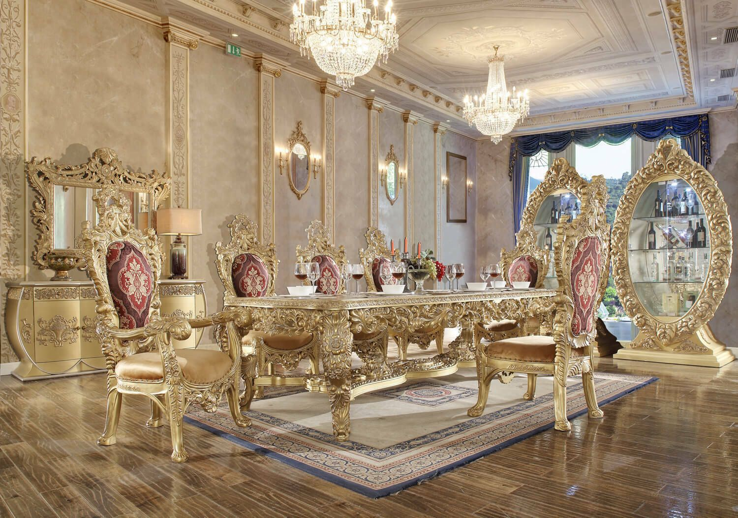 European Style Dining Table