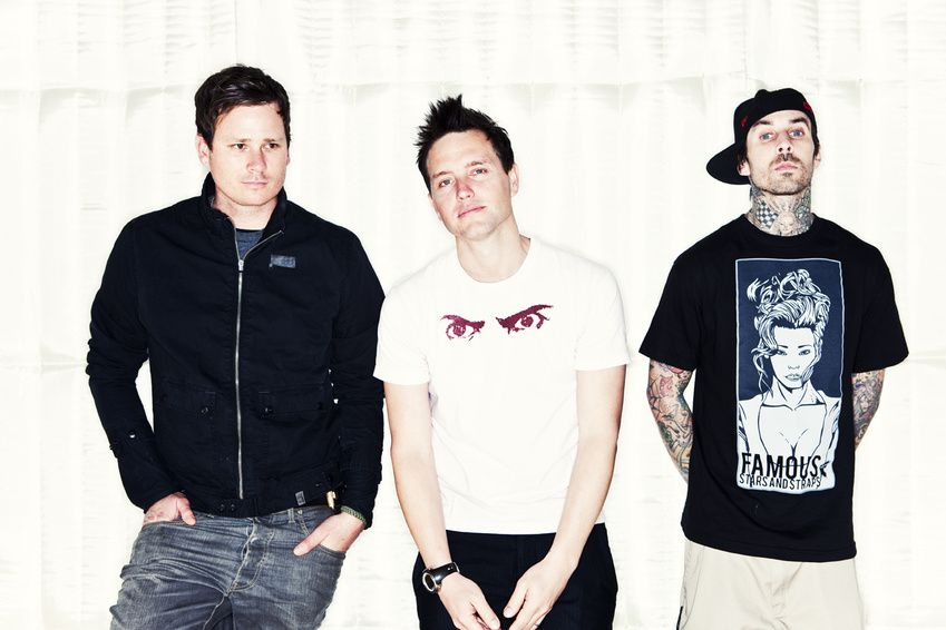 Blink-182 - except that Travis guy on the right, because I don't live in the continental Americas...