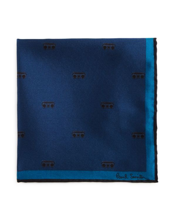 Paul Smith Boombox Pocket Square