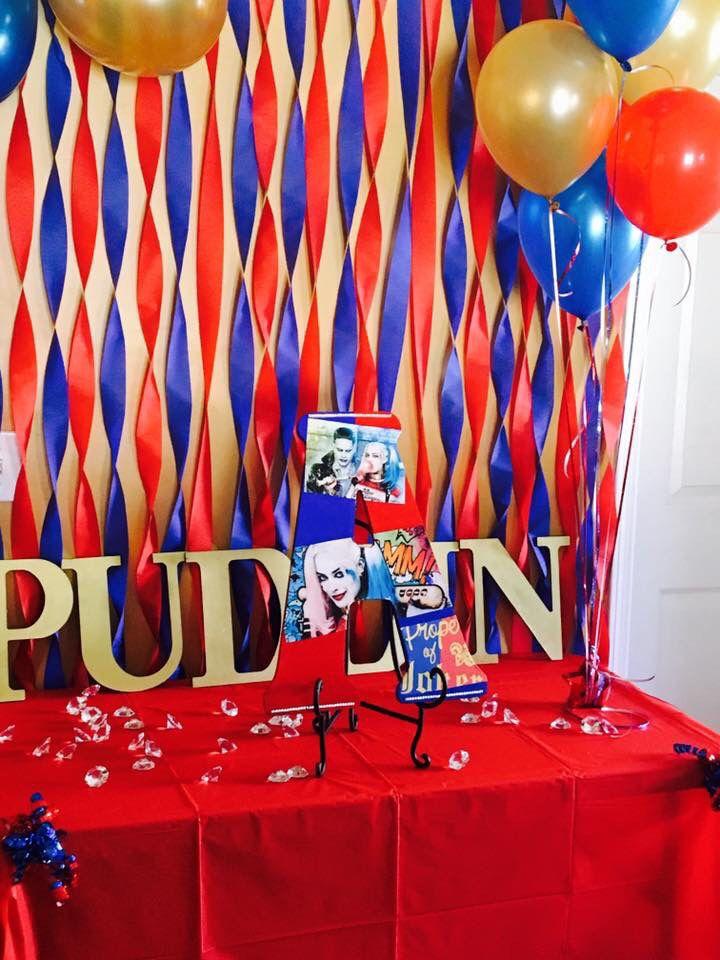 Harley Quinn Party Ideas Harley Quinn Pinterest