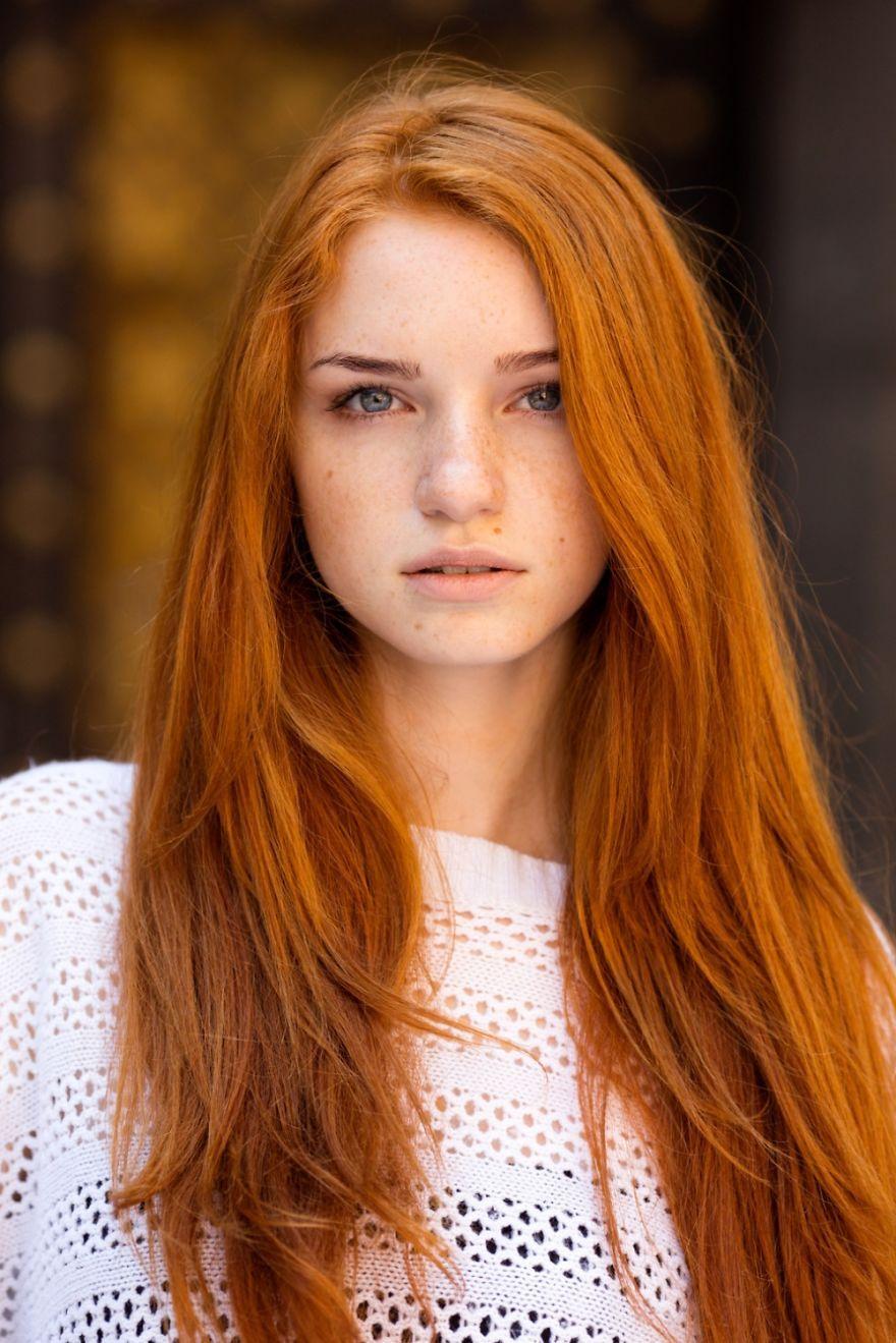 Alina From Odessa Ukraine Red Head Girls Girls With Red Hair Teen Beauty