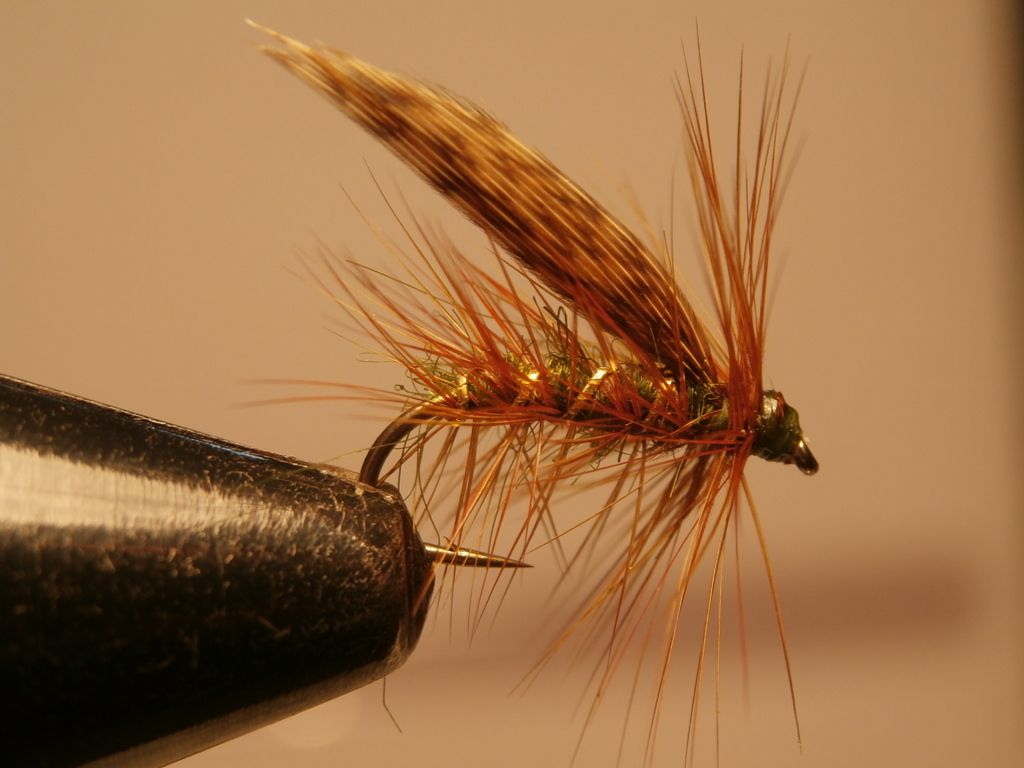 12 3 Claret Irish Bumble Trout Flies Fishing Flies Sizes 10