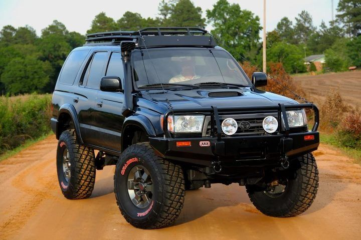 Built Up Gen 3 4runner Arb Front Bumper Snorkel And Roof Rack Toyota 4runner 4runner Toyota