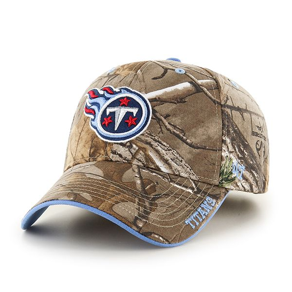 new style 2d918 9f324 Tennessee Titans Realtree Frost Realtree 47 Brand Adjustable Hat