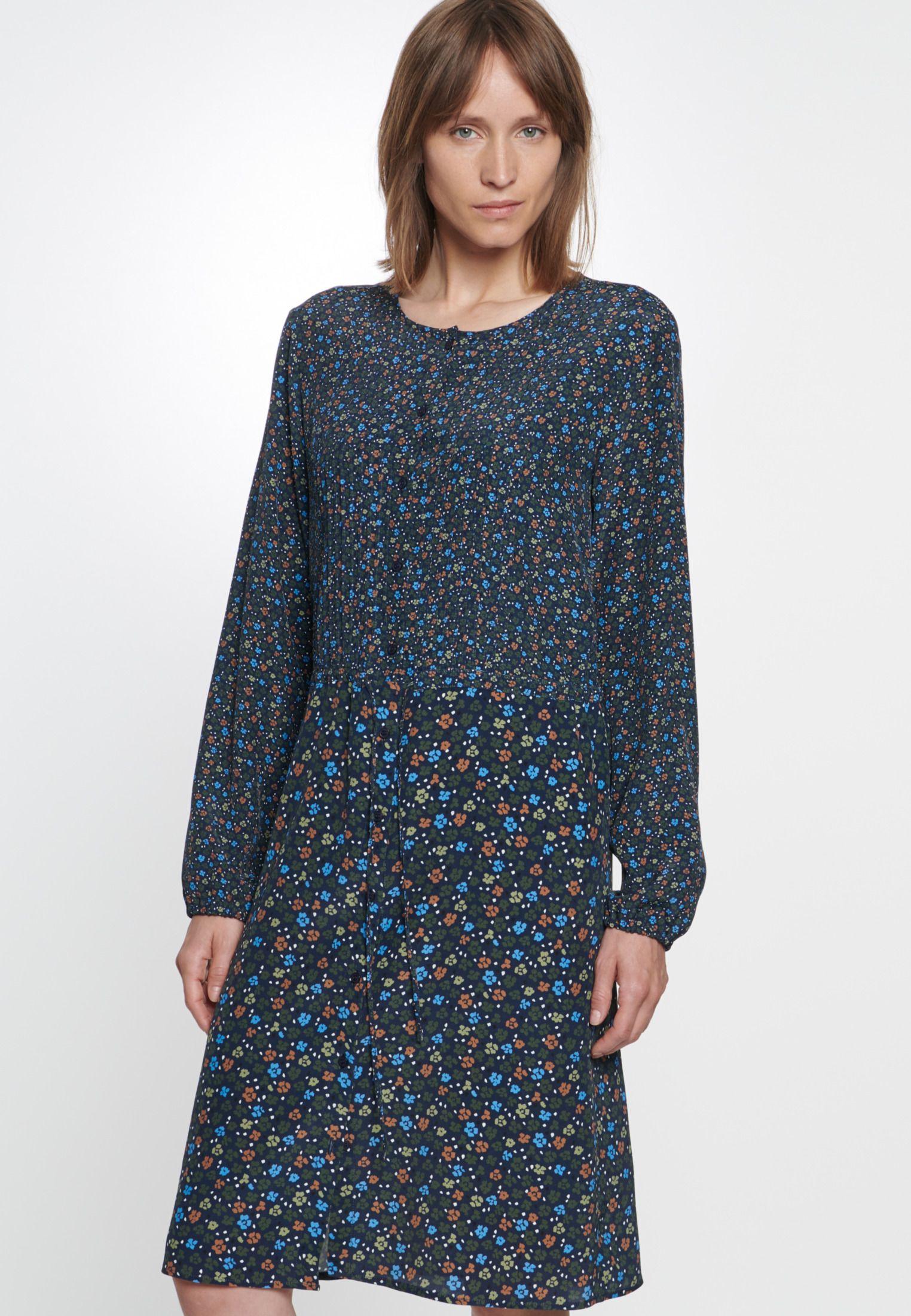 Chiffon Midi Kleid aus 100% Viskose (mit Bildern ...