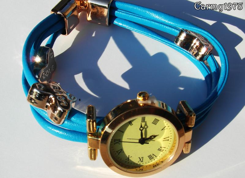 blue watch @tinydealshop