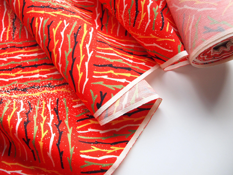 Vintage Japanese Kimono Fabric 95 Wool Multicolor Abstract Etsy Kimono Fabric Japanese Kimono Vintage Japanese Kimono