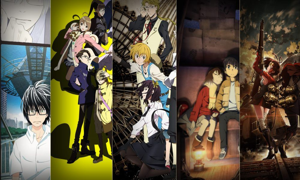 TOP 5 Anime 2016