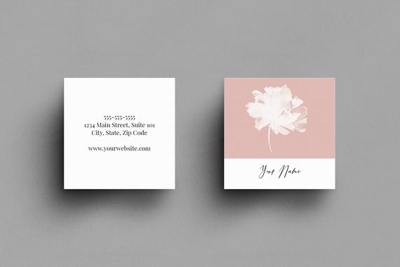 Square Business Cards Custom Business Card Design Promotional Card Business Cards Mo Square Business Cards Floral Business Cards Printing Business Cards