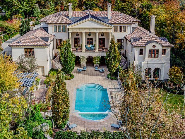 Inside Nashville S 15 Million Dollar Home Million Dollar Homes