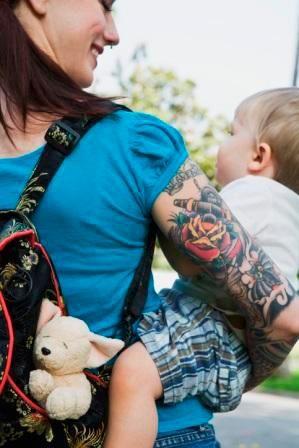 tattooed folks make great parents :D