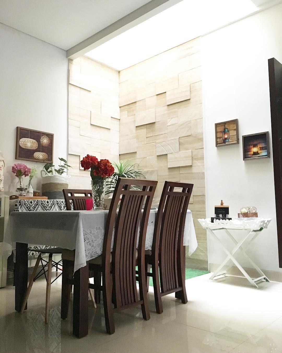 Ide Ruang Makan Minimalis Modern Menyatu Dengan Ruang