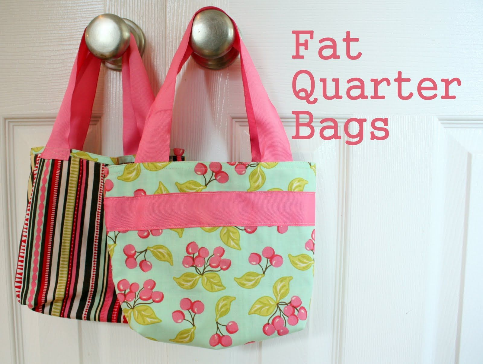 Diy Fat Quarter Projects Fat Quarter Bag Tutorial Sewing Pinterest Sewing