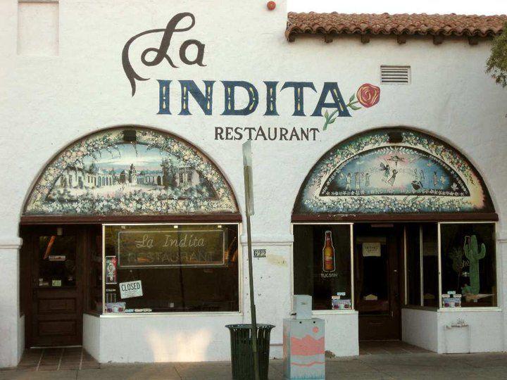 La Indita Mexican Restaurant Tucson Arizona Featuring Unique