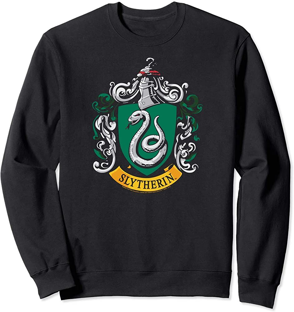 Chic Harry Potter Slytherin House Crest Sweatshirt Harry Styles Sweater From Top Store Sweatshirts Branded Sweatshirts Harry Potter Outfits [ 1000 x 942 Pixel ]