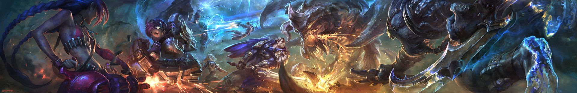 Resultado de imagen de league of legends banner