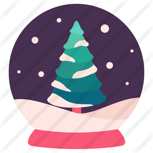 Snow Globe Free Vector Icons Designed By Victoruler Vector Icons Vector Icon Design Globe Icon