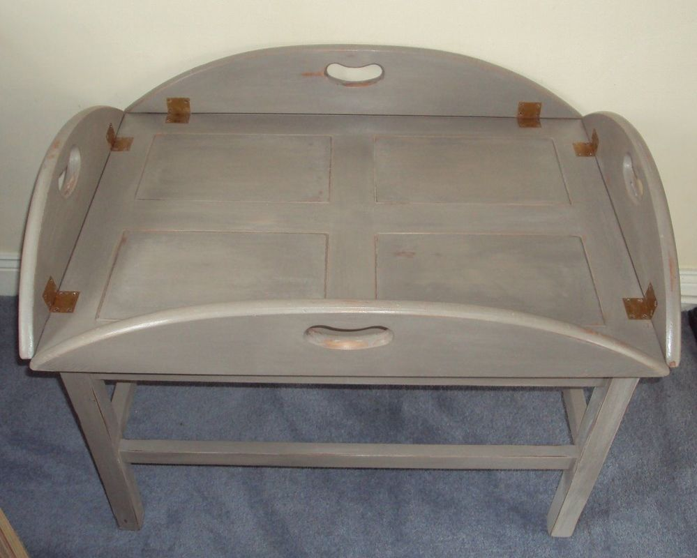 Hand Painted Butlers Tray Coffee Table Butler Trays and Linens