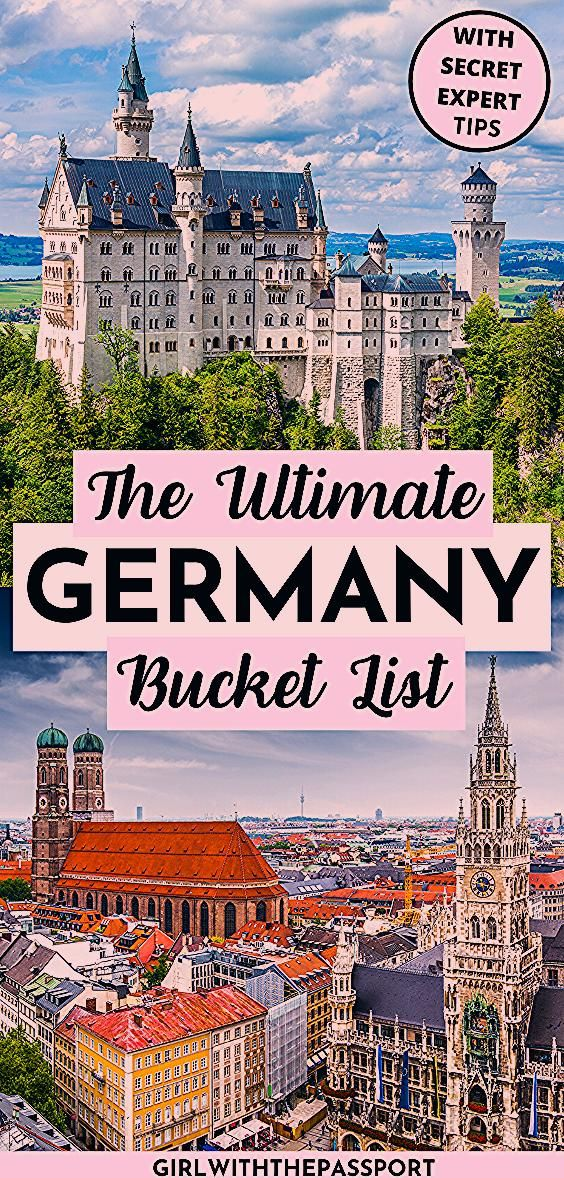 Photo of The Ultimate Germany Bucket List!