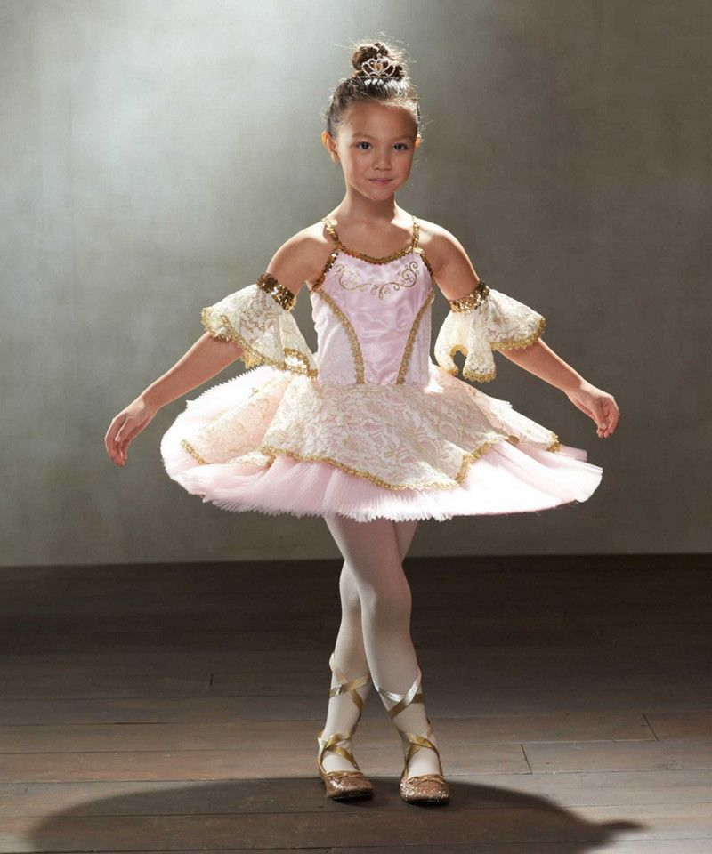 Pink Prima Ballerina Costume Girls Chasing Fireflies Ballroom Dancer