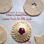Sweet and Simple Cherry Hand Pies
