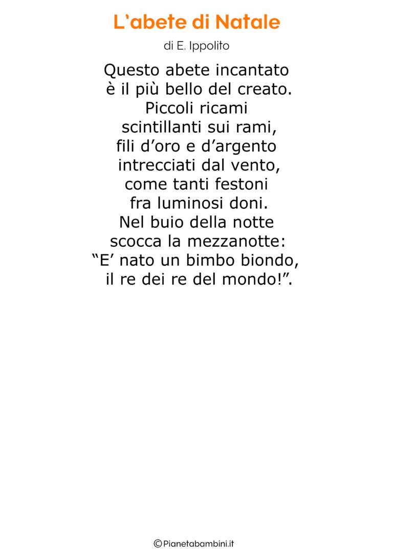Poesia Di Natale Per Bambini 2 Anni.Poesia Di Natale 10 Natale Bambini Di Natale Poesia