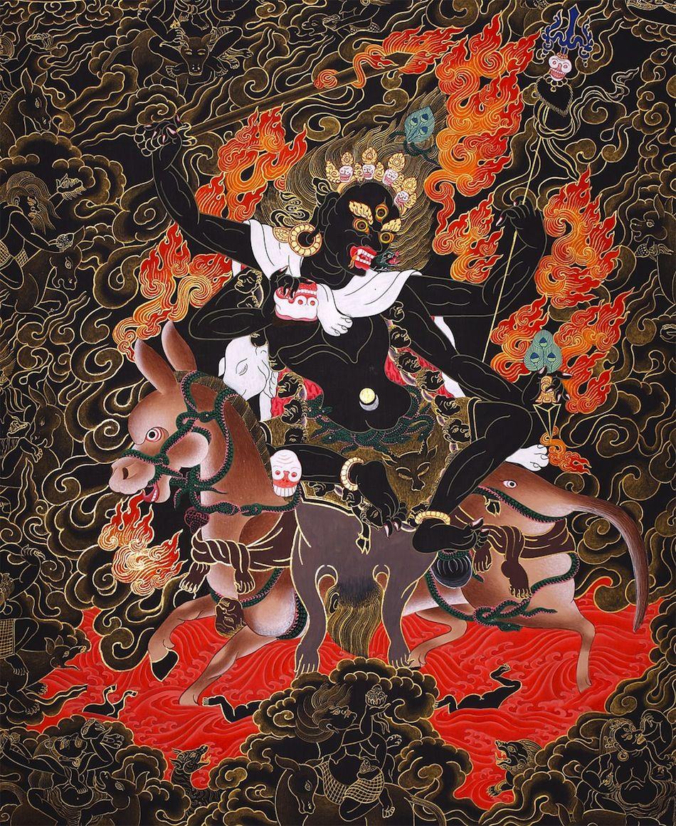 Rasarnava Palden Lhamo Glorious Goddess The Tibetan Form Of Shri Devi She