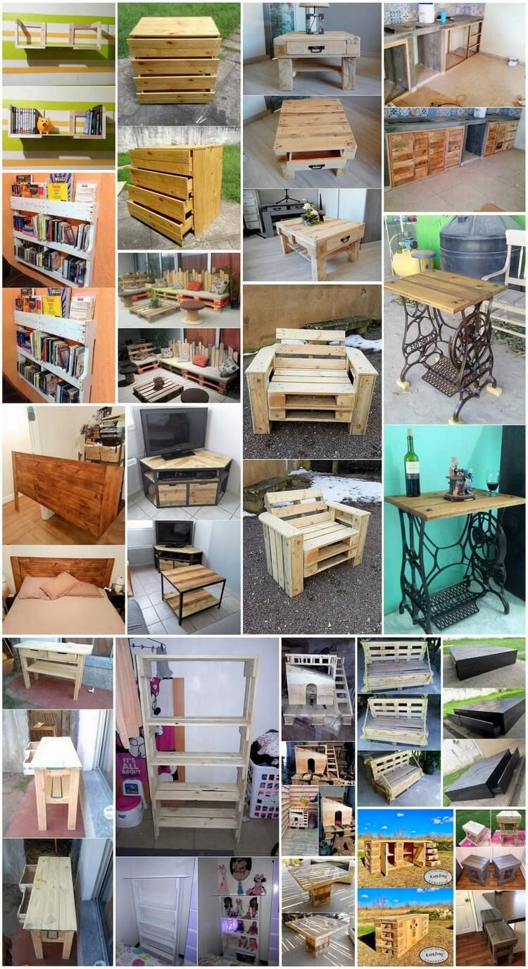 Surprising Diy Wood Pallet Recycling Plans Pallet Project