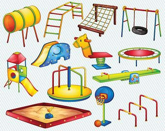 We Take Turns The Playground Clipart clipart