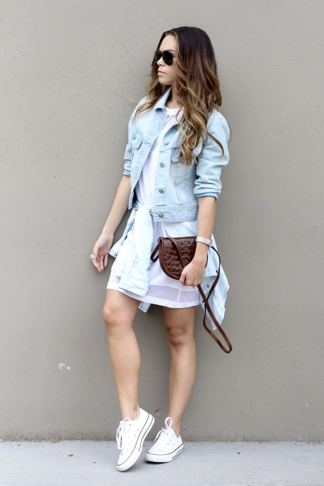converse denim shirt