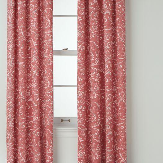 Royal Velvet® Beacon Coral Ridge Curtain Panel Pair - jcpenney ...