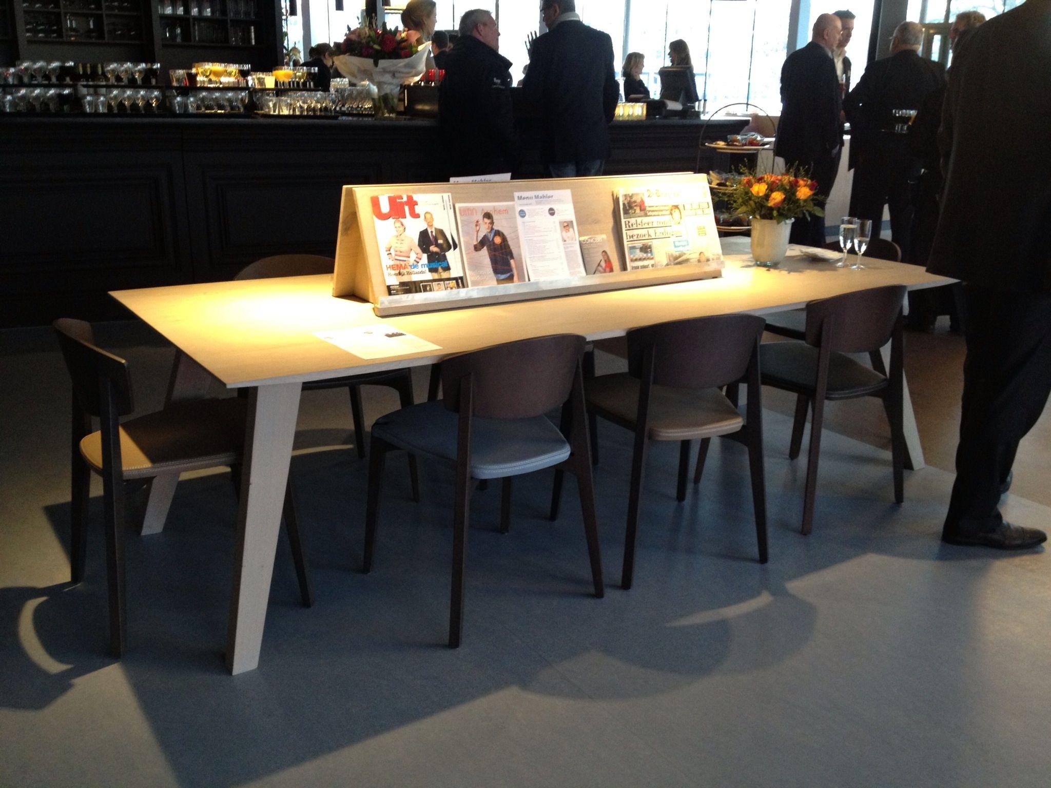 Ontwerp leestafel ontwerp leestafel en statafels pinterest ontwerp eethoek en boerderij - Eettafel houten ontwerp ...