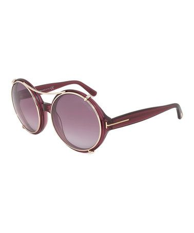 This Bordeaux Juliet Sunglasses is perfect! #zulilyfinds