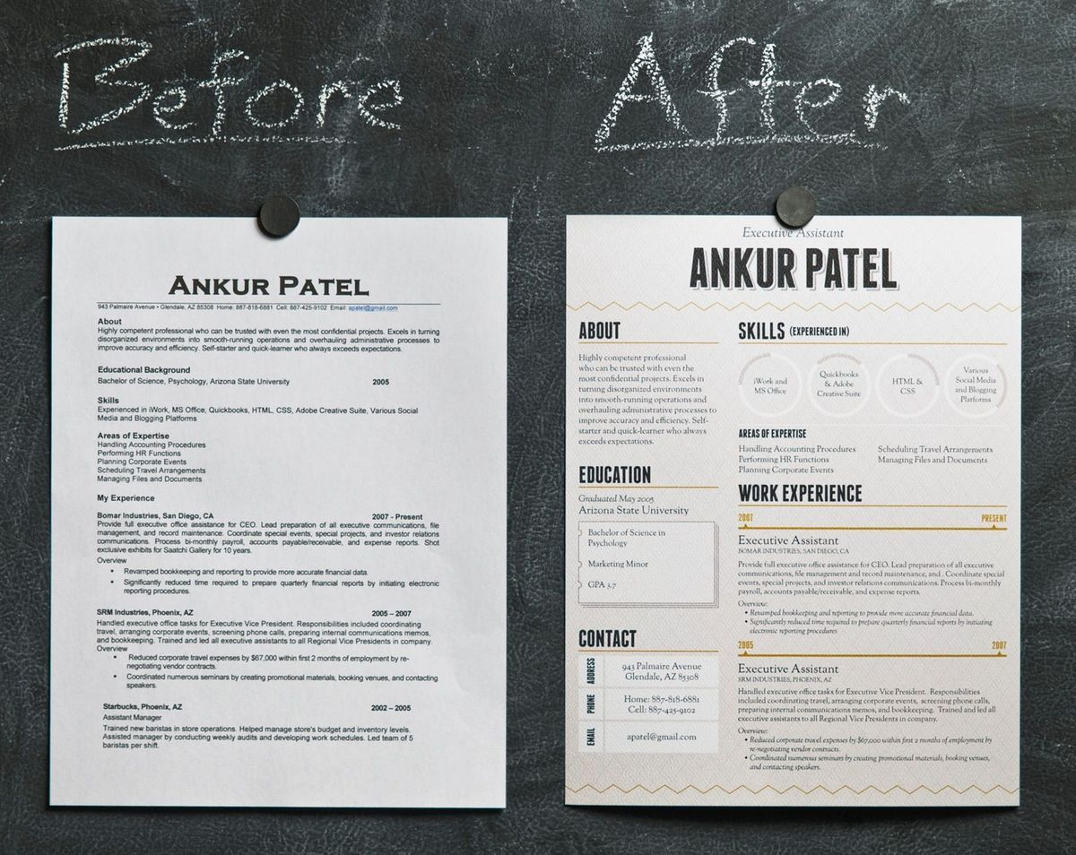 Can Beautiful Design Make Your Resume Stand Out Life Hacks Diy