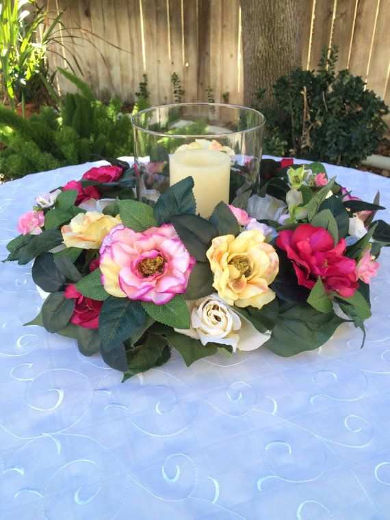Victorian Wedding Reception Centerpiece By Floralsandspice On Etsy