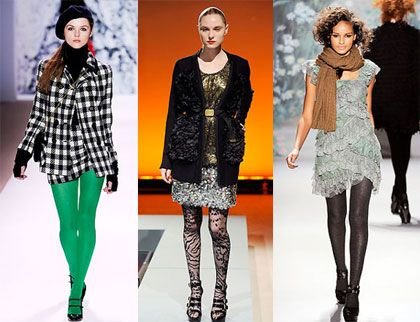 How to wear tights with any outfit