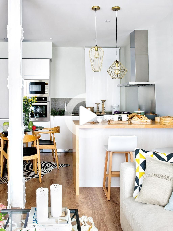 Un appartement modernisé à Madrid en 20  Idee deco petit salon