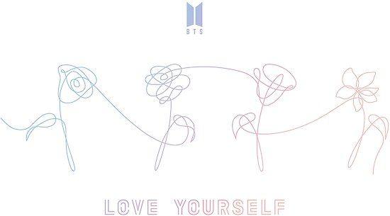 Tatuagem Do Bts: 'BTS LOVE YOURSELF FLOWERS ALL