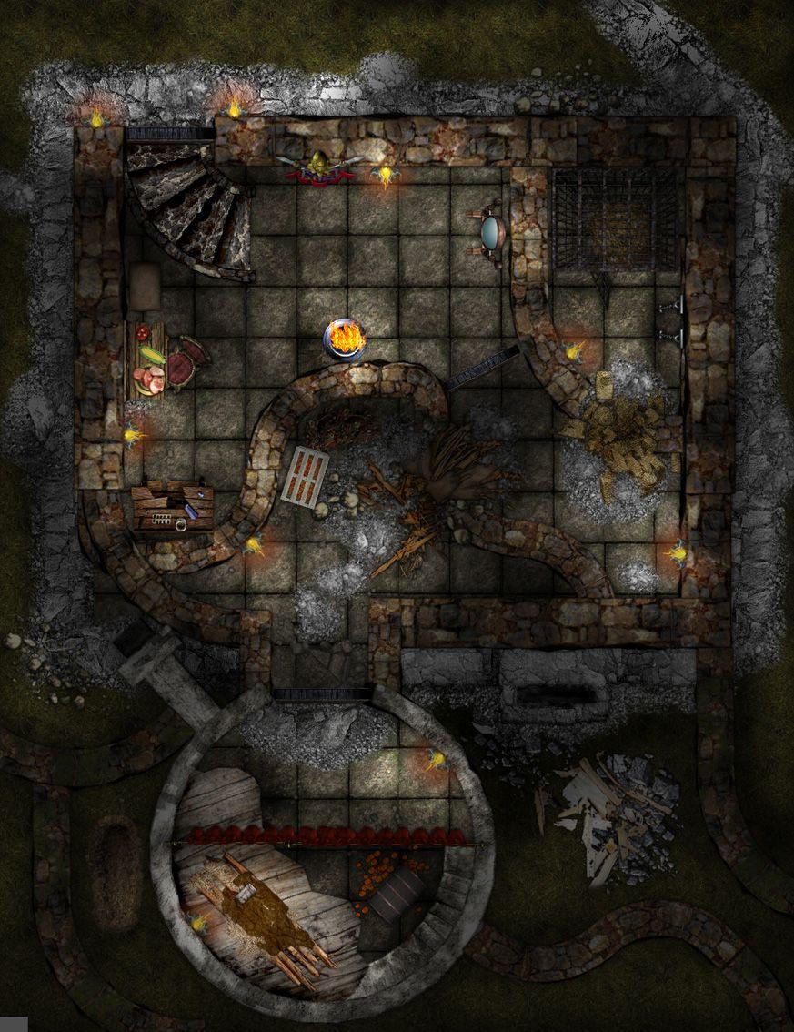 Image Result For Water Battle D&d Tile Map
