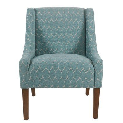 Andover Mills Posner 19 Side Chair Accent Chairs Chair Teal