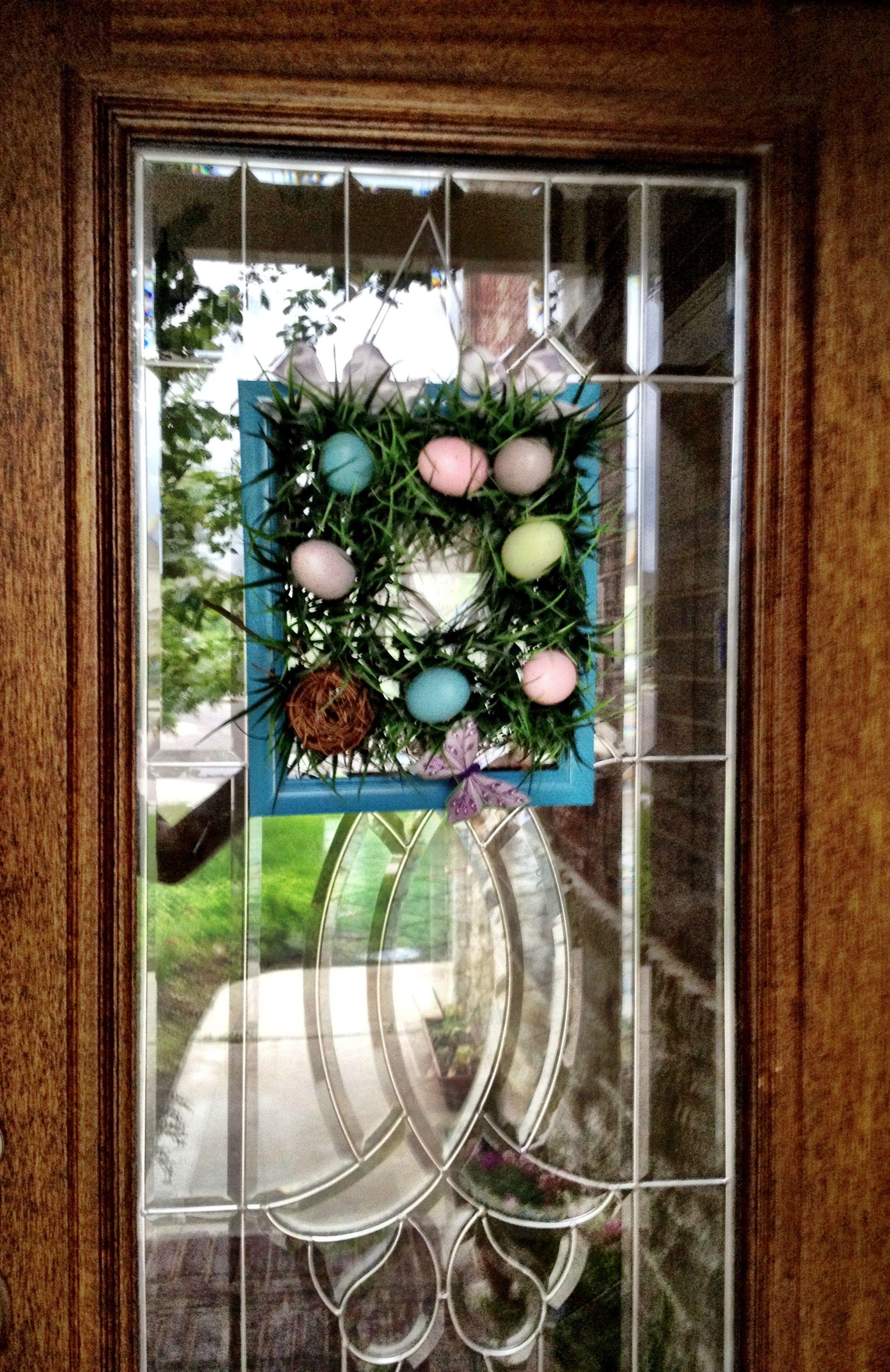 My Spring, Easter front door decor! <3   Wreaths   Pinterest ...
