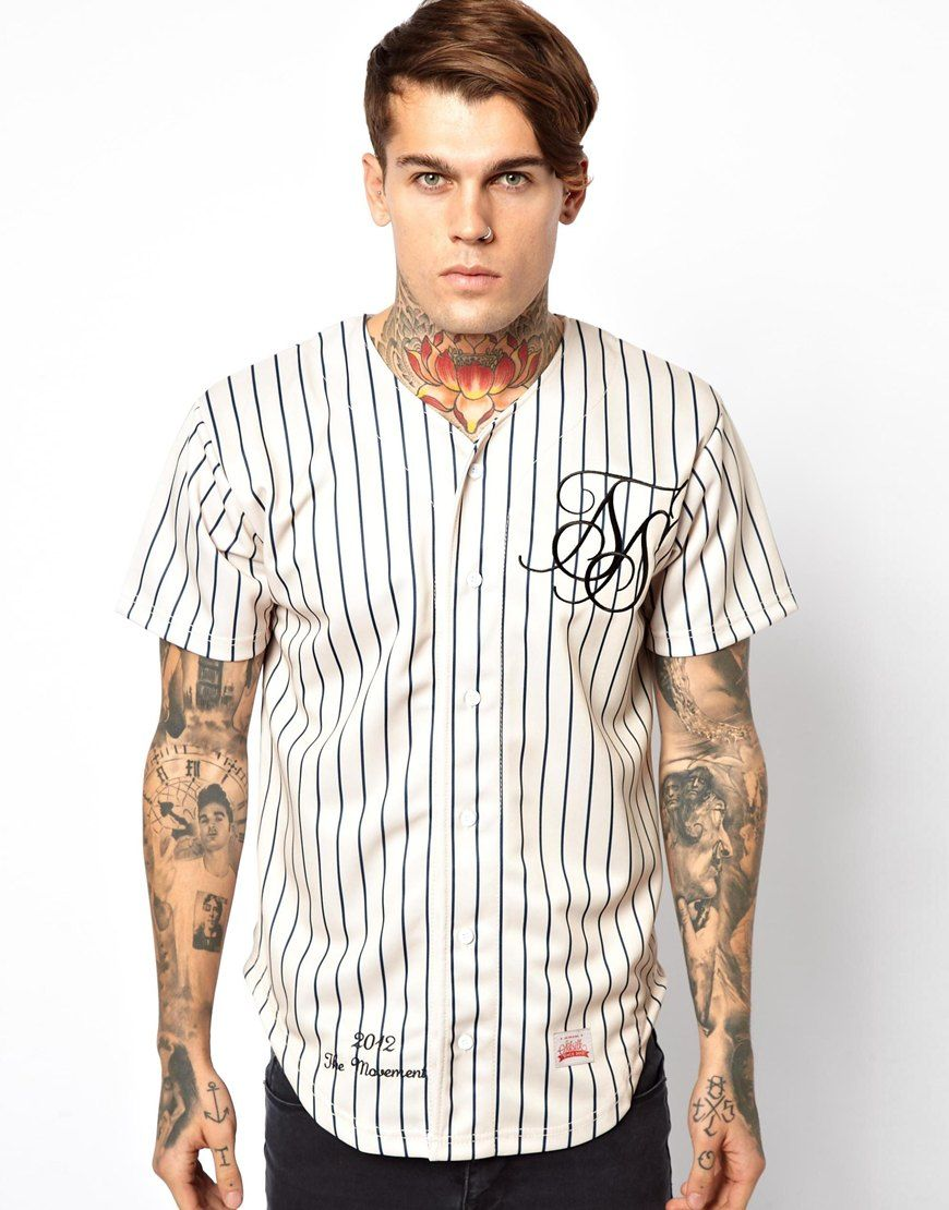 ASOS | Online Shopping for the Latest Clothes & Fashion. Baseball ShirtsMen  ...