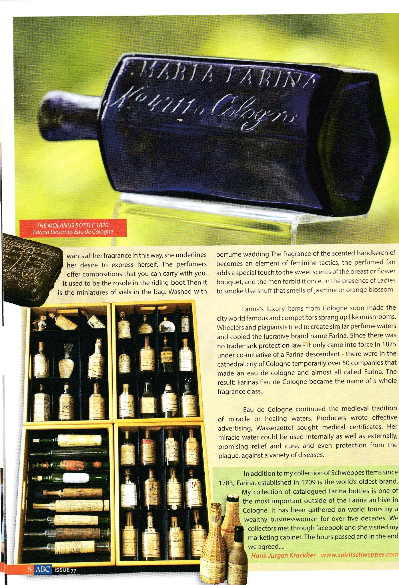 Spiritschweppes Marketing Cabinet Storytelling The Heritage Of Marketing Bottle Marketing Fragrance