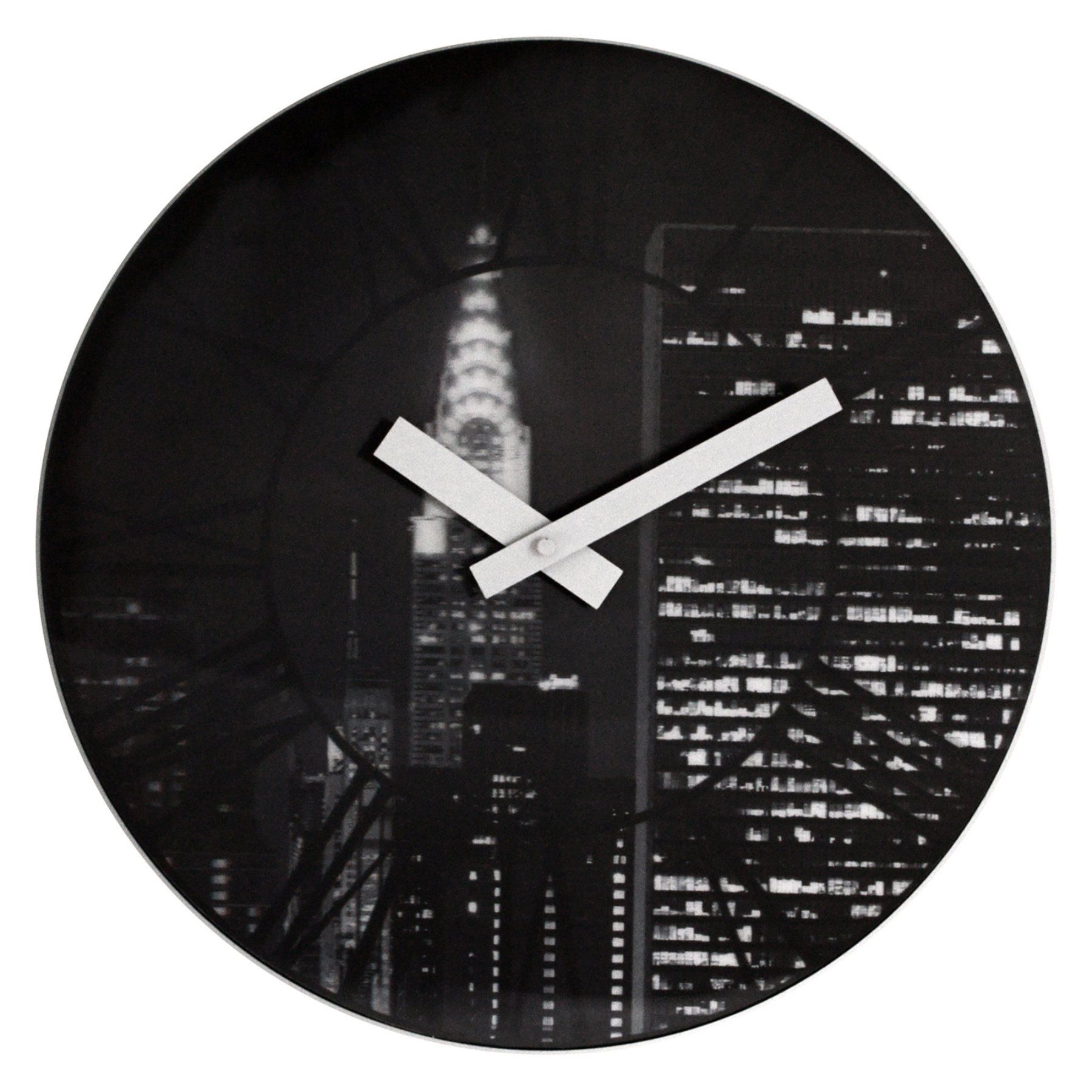 The City 15.3 in. Wall Clock - Control Brand - NT3005