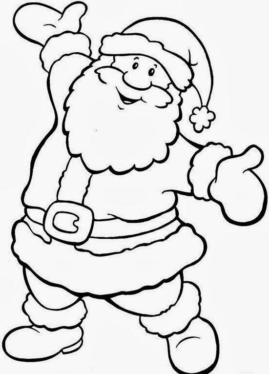 Pin De Rita De Cassia Em Natal Desenho De Papai Noel Para