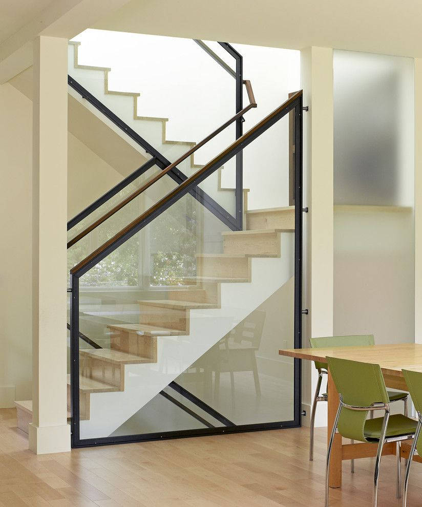 Stair Railing Ideas Staircase Modern With Freestanding