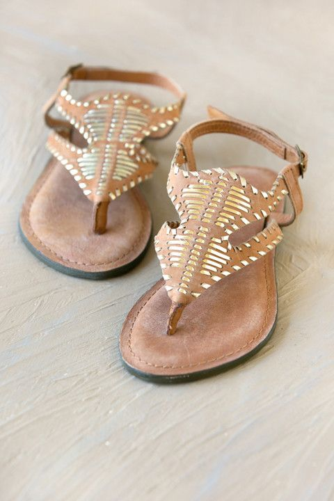 Accona Leather Sandal | White Plum