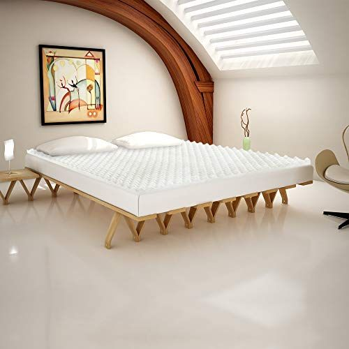 Spring Sleep Convoluted Egg Shell Breathable Toppers King White Mattress Price Mattress Dust Mites