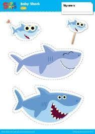 shark hat craft template」的圖片搜尋結果 | shark | Pinterest | Shark ...