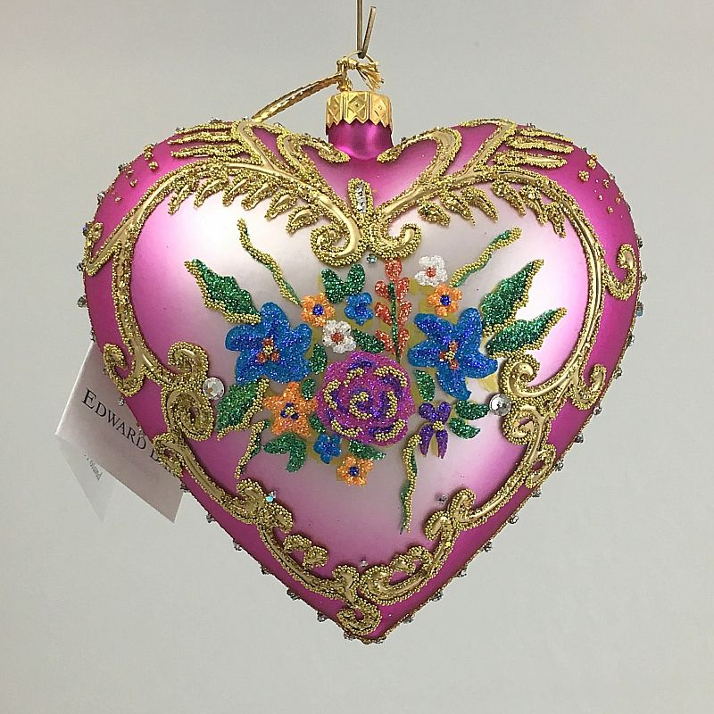 polish glass christmas eggs - Google Search Heart shaped Christmas - polish christmas decorations